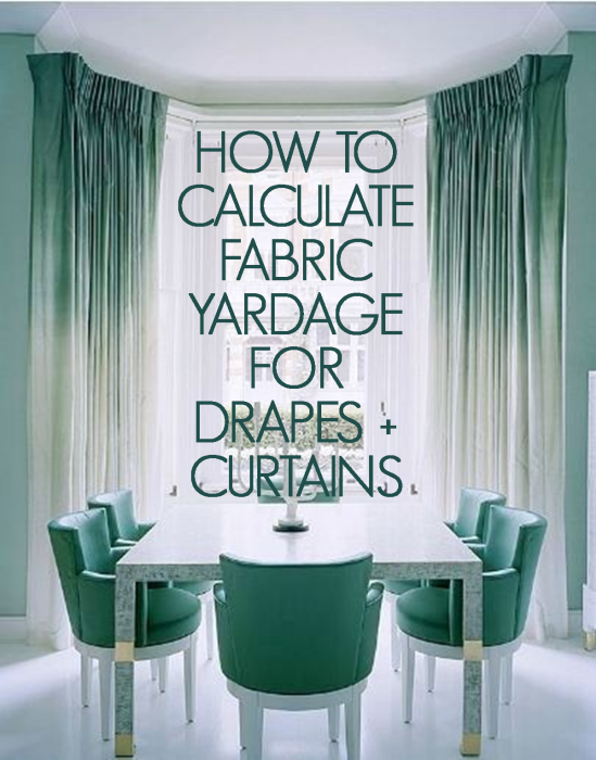 how to measure and cut curtain fabric