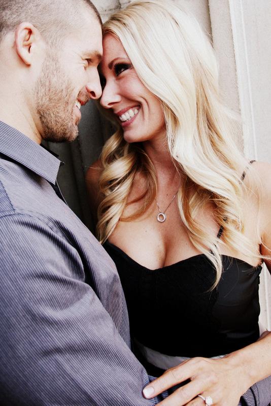 1 Happy Engaged Couple