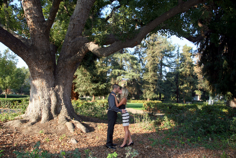 3 Kissing Under Tree