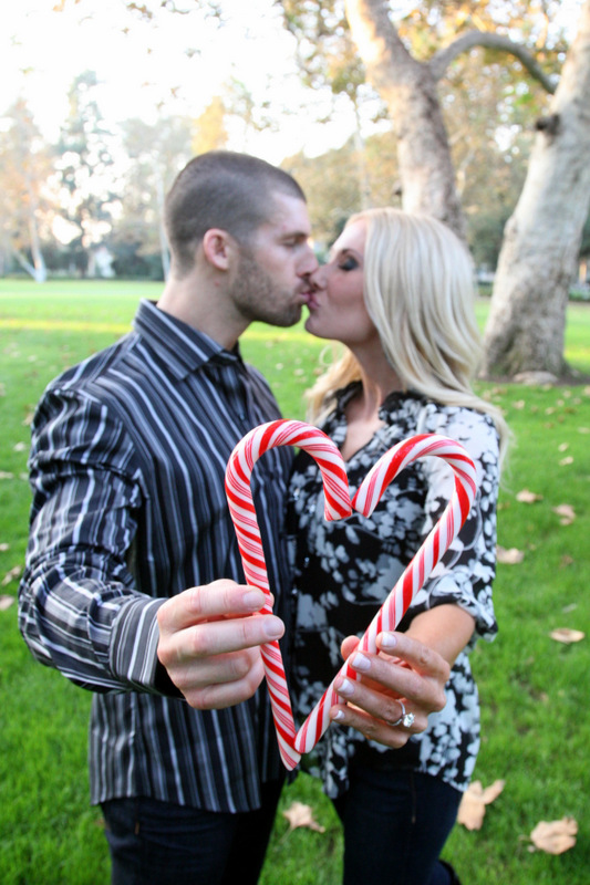 52 Happy Couple Candy Cane Heart
