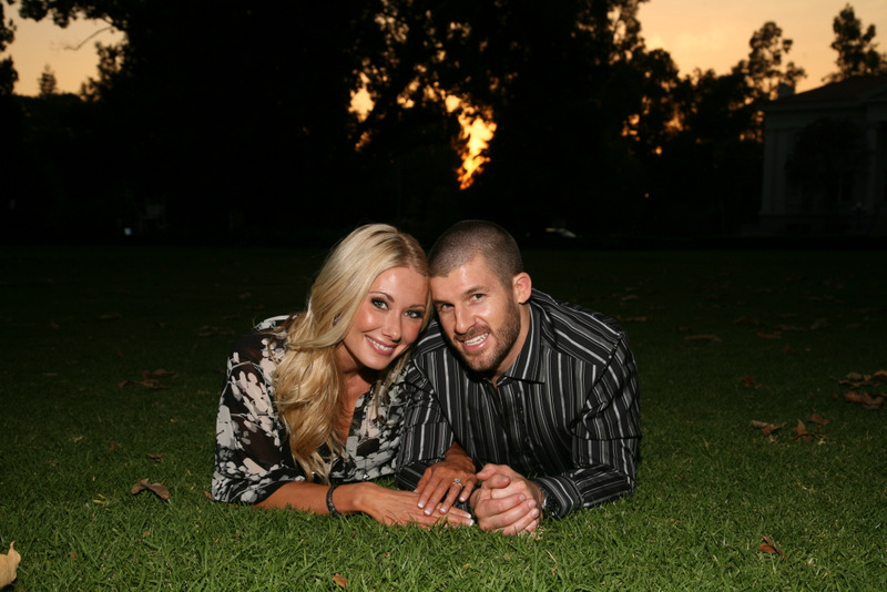 70 Engagement Photo in Grass